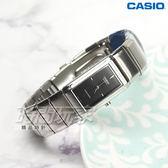 CASIO卡西歐 LTP-2037A-1C 都會時尚方形酒桶型女錶 石英錶 防水手錶 不銹鋼 黑 LTP-2037A-1CDF