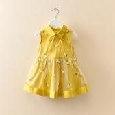 女童連衣裙夏女寶寶裙子女孩童裝兒童夏裝背心裙超洋氣仙女純棉 晴天時尚