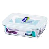 Glass Lock強化玻璃保鮮盒1000ml長方型密封盒RP533便當盒副食品保存盒-大廚師百貨