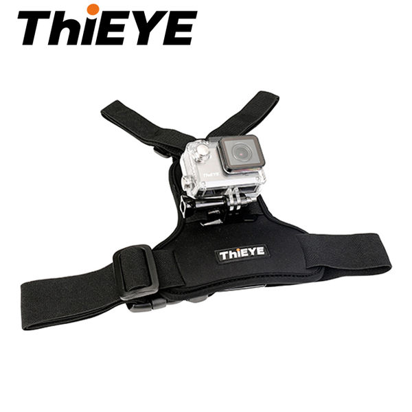 ◎相機專家◎ ThiEYE i30 胸前固定帶 Chest Harness 降落傘 跳高 攀岩 泛舟 公司貨
