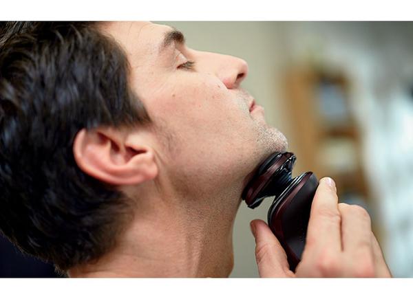 ◤單機特殺!◢ (含清洗座) 飛利浦 S5510/37 水洗三刀頭電鬍刀 ◤附鬢角刀頭+鼻毛刀頭+收納盒◢