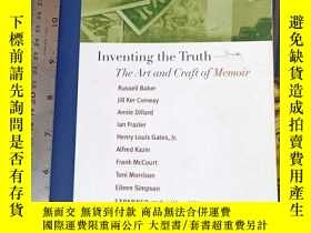 二手書博民逛書店Inventing罕見the TruthY11418 William Zinsser MARINER BOOK