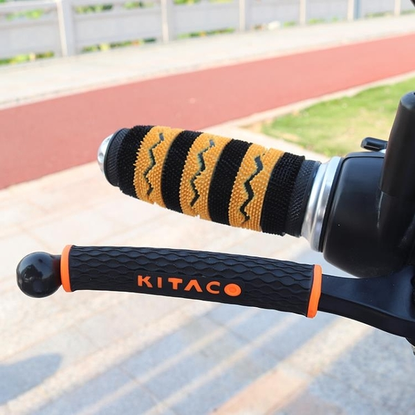 摩托車改裝配件手把膠套電動自行車手把防滑防汗橡膠套毛毛手把套
