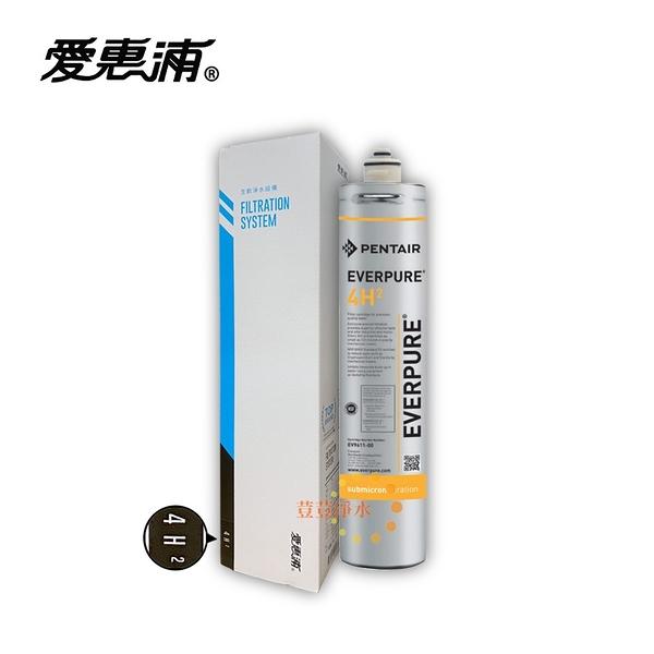 (贈禮券)台灣愛惠浦PENTAIR EVERPURE 4H2 加熱器專用濾心 原廠公司貨盒裝濾芯 荳荳淨水