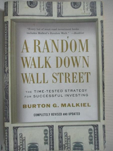 【書寶二手書T1/原文小說_GB7】A Random Walk Down Wall Street: The Time-Tested…