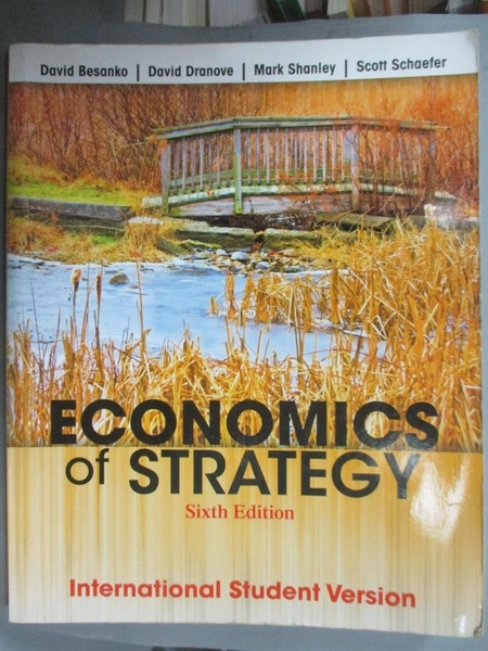 【書寶二手書T1/社會_ZJF】Economics of Strategy_David Dranove