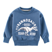 恐龍保暖加絨長袖上衣 童裝 加絨上衣 T-shirt