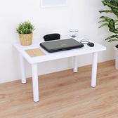 【頂堅】中型和室桌/矮腳桌/餐桌-寬80x深60x高45公分-二色可選素雅白色