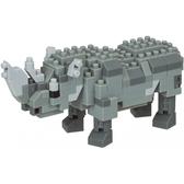 《 Nano Block 迷你積木 》NBC_308犀牛 / JOYBUS玩具百貨