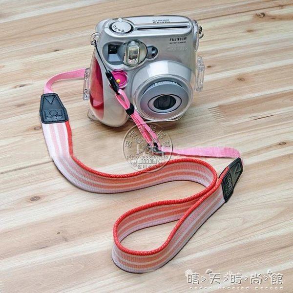 少女心 粉紫色  米妮可愛女生微單相機mini 掛繩掛脖肩帶相機背帶