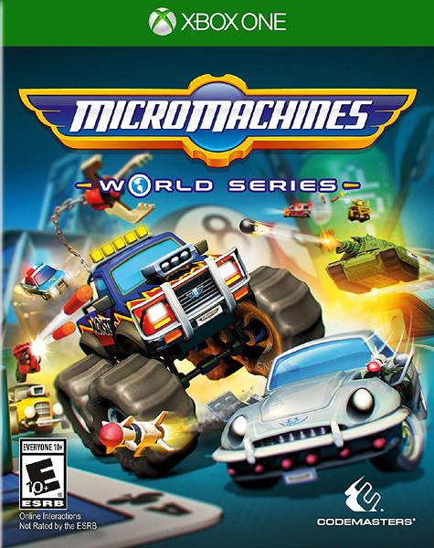 X1 Micro Machines World Series 微型賽車世界(美版代購)