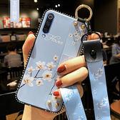 三星 Galaxy A7 2018 手機殼 腕帶支架殼 保護矽膠套 全包邊軟殼 掛繩防摔殼 手機套 保護殼