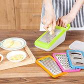 ♚MY COLOR♚不鏽鋼切菜器五件套 磨蓉 磨泥 切絲 切片 刨絲 刀片 涼拌 料理 烹飪 粗細【J61-1】