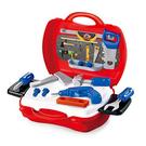 【17mall】多功能家家酒兒童玩具-仿真手提收納維修工具箱