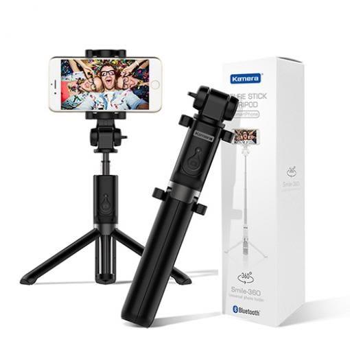 佳美能 Kamera Smile-360 三腳架 遙控自拍棒 (藍牙版3.0)【聖影數位】