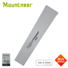 【Mountneer 山林 中性 抗UV反光袖套《淺灰》】11K93/防曬袖套/單車袖套/登山/騎車/園藝