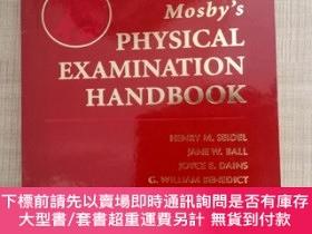 二手書博民逛書店【外文原版】罕見Mosby s PHYSICAL EXAMINATION HANDBOOK THIRD EDITI