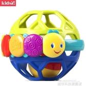兒童玩具 樂握球嬰兒手抓球搖鈴兒童玩具抓握練習 城市科技