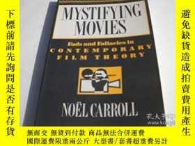 二手書博民逛書店Mystifying罕見MoviesY256260 Noel Carroll Columbia Univers
