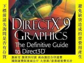 二手書博民逛書店Directx罕見9 GraphicsY364682 Thorn, Alan Natl Book Networ