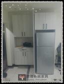【系統家具】玄關鞋櫃搭配冰箱櫃