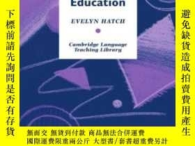 二手書博民逛書店Discourse罕見And Language EducationY256260 Hatch, Evelyn