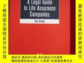 二手書博民逛書店A罕見Legal Guide to Life Assurance