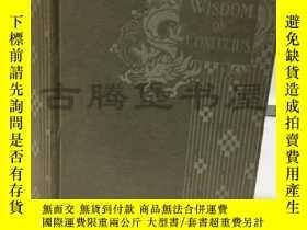 二手書博民逛書店1909年罕見孔子的智慧 The Wisdom of Confu