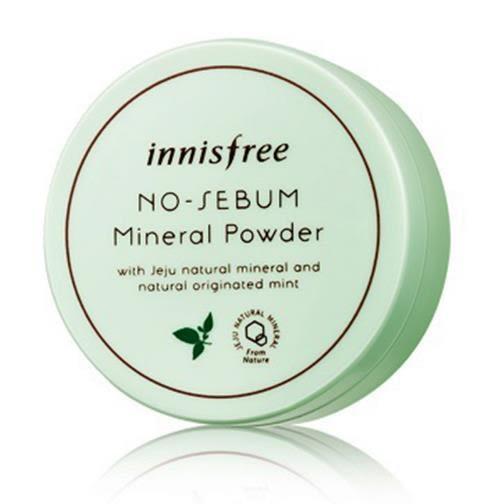 ●魅力十足● innisfree 天然薄荷礦物控油蜜粉 / 定妝蜜粉 天然草本礦物控油蜜粉