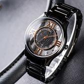 Max Max 希臘金標鏤空時尚腕錶 38mm-禮盒組 MAS7010-1-SET 熱賣中!