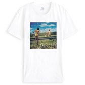 Sigur Ros-Meo短袖T恤-白色 人物相片潮流搖滾樂團藝術趣味幽默