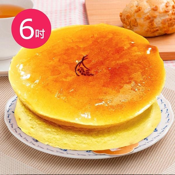 樂活e棧-母親節造型蛋糕-就是單純乳酪蛋糕(6吋/顆,共1顆)