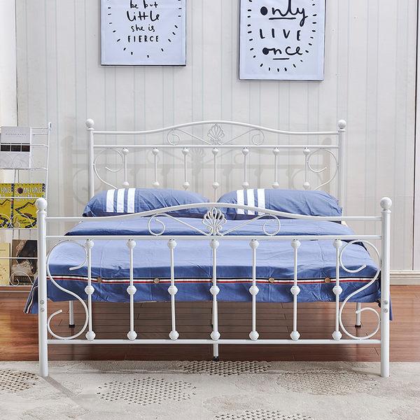 床架 韓式簡約現代臥室公寓鐵床1.5穩固鐵藝雙人床1.8公主單人床1.2米JD 傾城小鋪