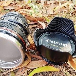 巨安網購?【107051621】遮光罩款 單眼相機鏡頭杯 新款附杯蓋