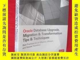 二手書博民逛書店Oracle罕見Database Upgrade, Migrat