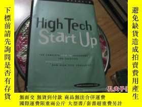 二手書博民逛書店High罕見Tech Start Up 精裝+護封9837 JO