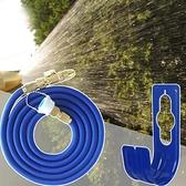 新改良防爆金屬高壓彈力水管組(贈水管收納掛勾)