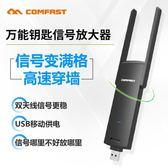 WiFi 手機wifi信號接收放大器大功率無線擴大擴展中繼遠距離光釬穿墻家用路由器go 二度3C