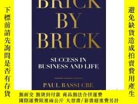 二手書博民逛書店Brick罕見by Brick: Building Succes