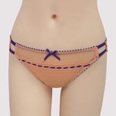 【瑪登瑪朵】浪漫細緻蕾絲  低腰三角萊克內褲(珊瑚橘)(未滿3件恕無法出貨,退貨需整筆退)