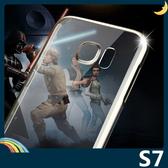 三星 Galaxy S7 明燦系列手機殼 PC硬殼 倍思Baseus 電鍍透明輕薄款 保護套 手機套 背殼 外殼