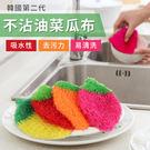 韓國第二代不沾油洗鍋布/洗碗巾/菜瓜布 ...