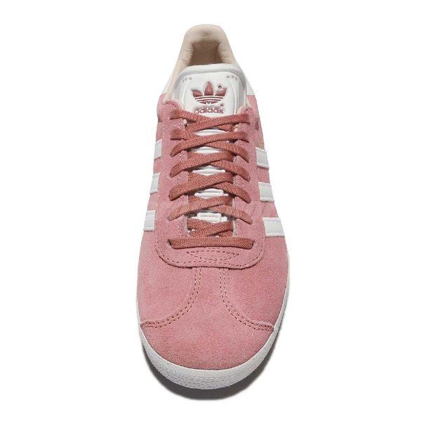 【六折特賣】adidas 休閒鞋 Gazelle W 粉紅 桃紅 白 金標 麂皮 復古球鞋 女鞋 【PUMP306】 CQ2186