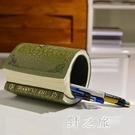創意可愛歐式復古筆筒兒童學生文具商務辦公收納桶 qz2556