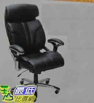 [COSCO代購] 天然全牛皮 皮面 總裁椅 EXECUTIVE CHAIR _616031 $7215