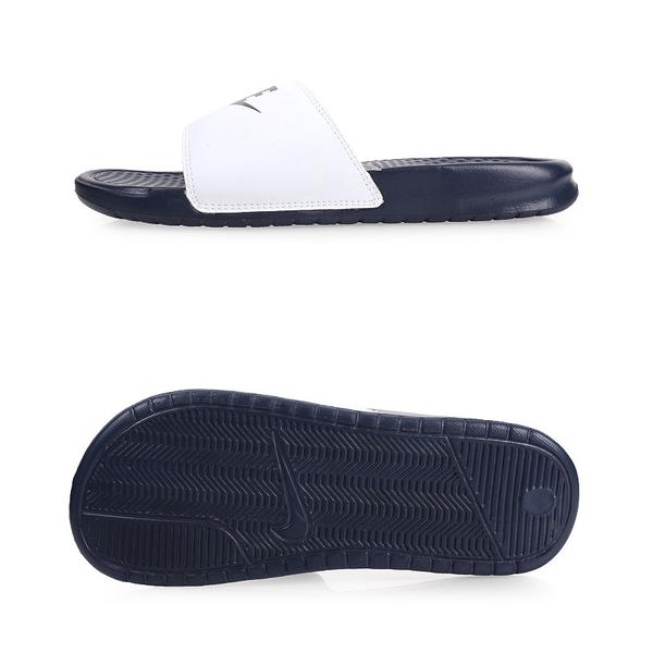 NIKE BENASSI JDI MISMATCH 男運動拖鞋(免運 海邊 海灘 戲水≡體院≡