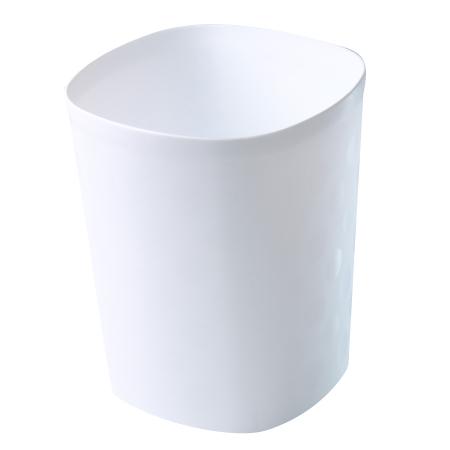 垃圾桶 10L 中都會 白 TRNT018-W  NITORI宜得利家居