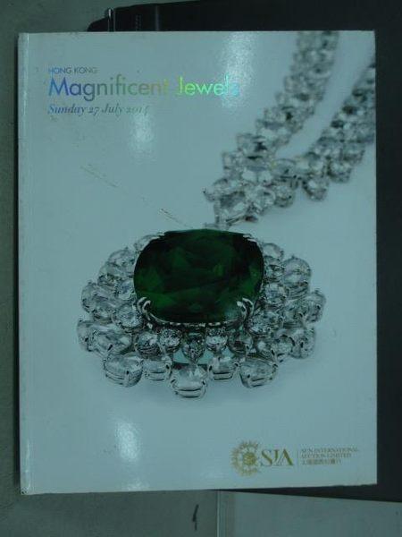 【書寶二手書T2/收藏_XEK】SIA_Magnificent Jewels_2014/7/27