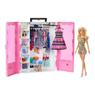《 MATTEL 》芭比閃亮造型衣櫃(含娃娃)╭★ JOYBUS玩具百貨