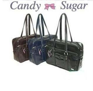 日系candy制服包  手提包 【藍星居家】
